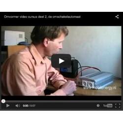 230V omschakelautomaat (video)