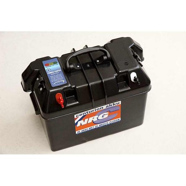 Luxe accubox met LED accu meter