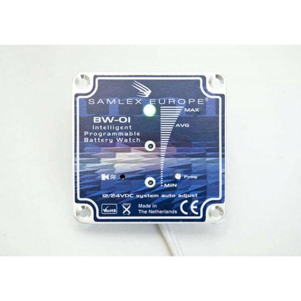 Accubewaker BW-01 12 en 24 volt met LED indicatie