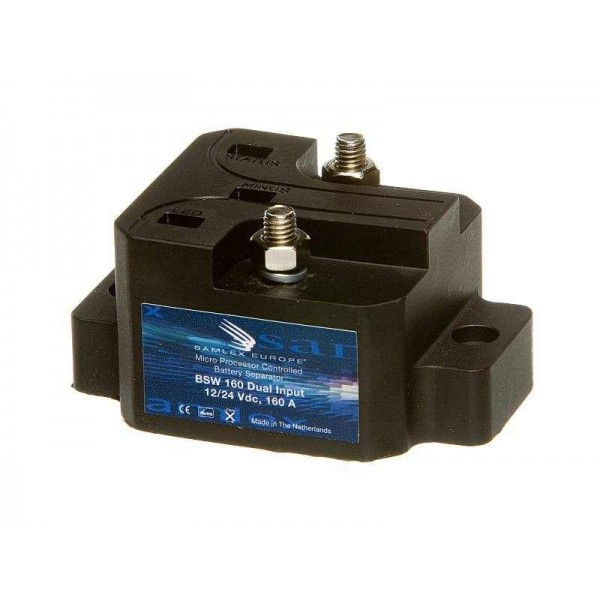Samlex BSW160 Laadstroomverdeler 12/24V, 160 ampere