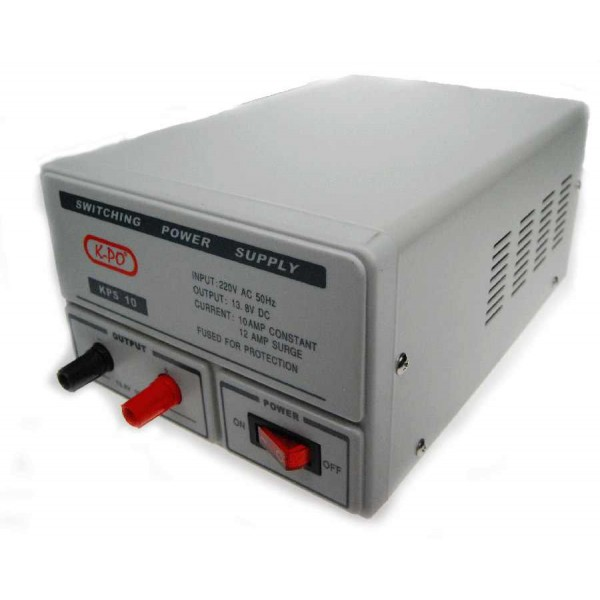 Omvormer-voeding 230 naar 13,8 volt 10A (120 watt)