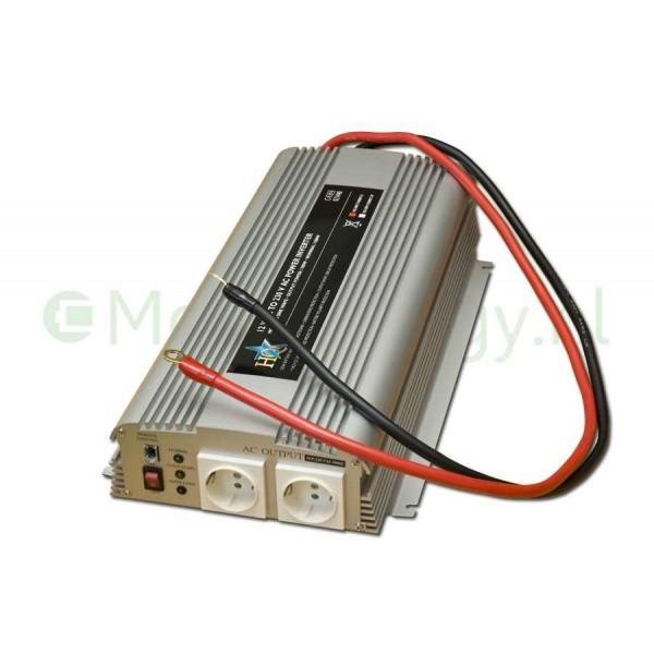HQ 12 naar 230 volt omvormer, 1700 watt