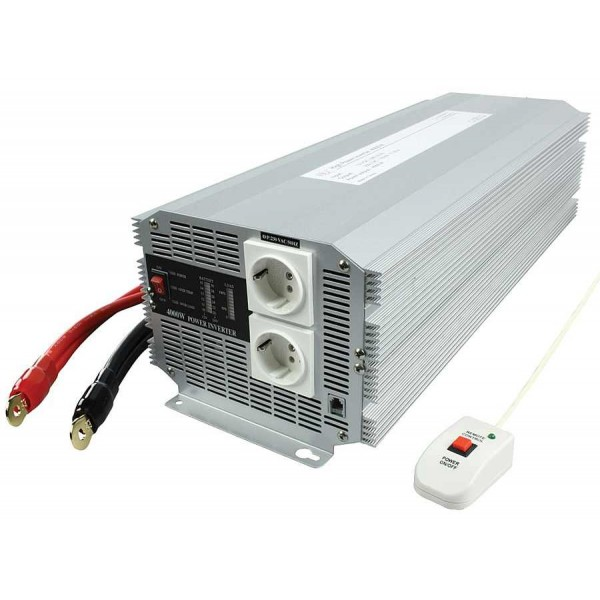 HQ 12 naar 230 volt omvormer, 4000 watt