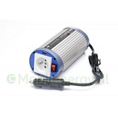 HQ 12 naar 230 volt omvormer met USB, 150 watt