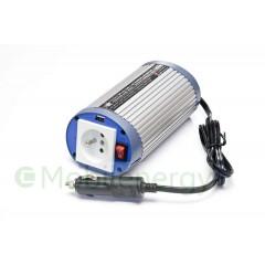 HQ 24 naar 230 volt omvormer met USB, 150 watt