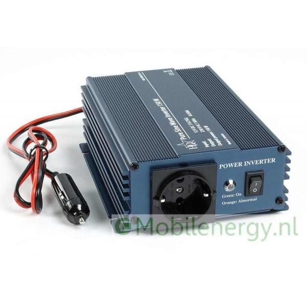 HQ 12 naar 230 volt Zuivere sinus Omvormer, 150 watt
