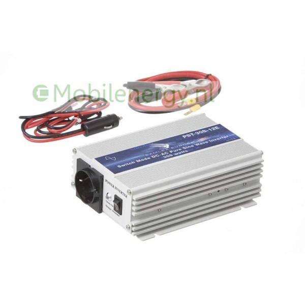 Samlex PST 12 naar 230 volt Zuivere Sinus Omvormer, 300 watt
