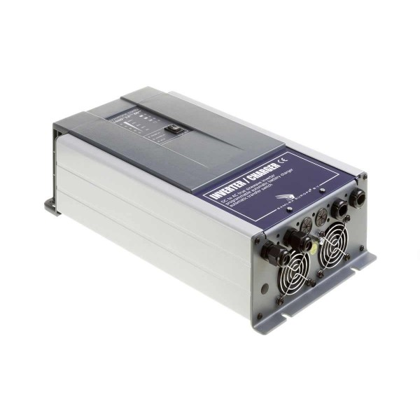Samlex PowerSine PSC 1600 12 naar 230 volt zuivere sinus omvormer met acculader en automaat
