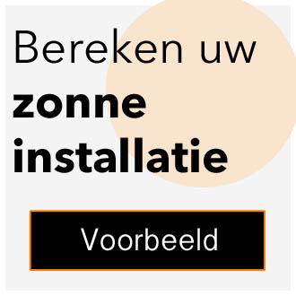Bereken uw zonnepanelen installatie