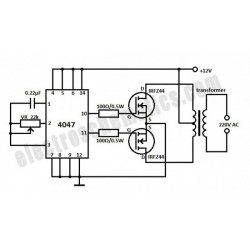 Basis omvormer circuit: hoe werkt dit?