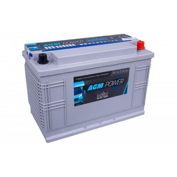 inTact 12 volt AGM accu 100 Ah
