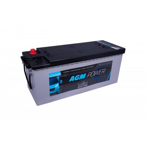 inTact 12 volt AGM accu 130 Ah