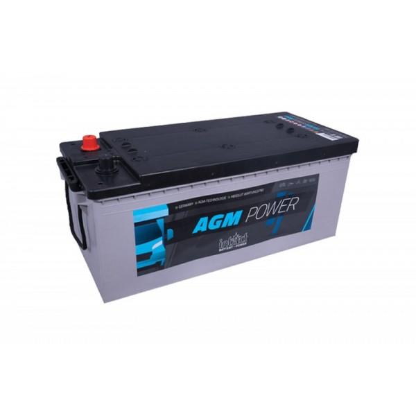 inTact 12 volt AGM accu 180 Ah