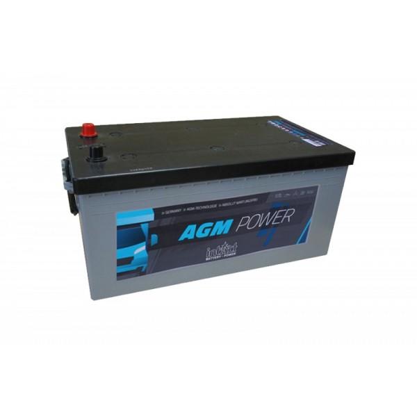 inTact 12 volt AGM accu 200 Ah