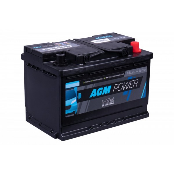inTact 12 volt AGM accu 65 Ah