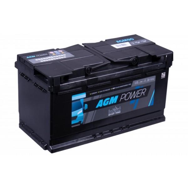 inTact 12 volt AGM accu 90 Ah