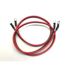 Acculader kabel maximaal 30 ampere met M6 of M8 ogen