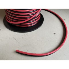 Installatiedraad en accukabel twinflex kaal 10 mm2