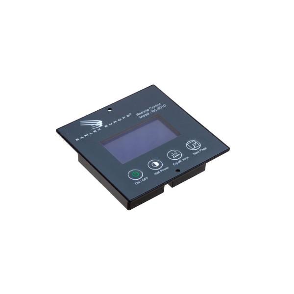 Afstandsbediening remote met LCD display voor Samlex WSC acculaders RC601D
