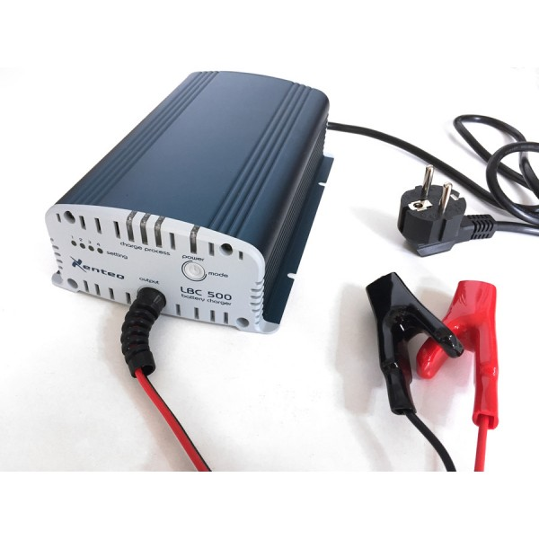 Xenteq LBC 512-10 12 volt acculader 10 ampere