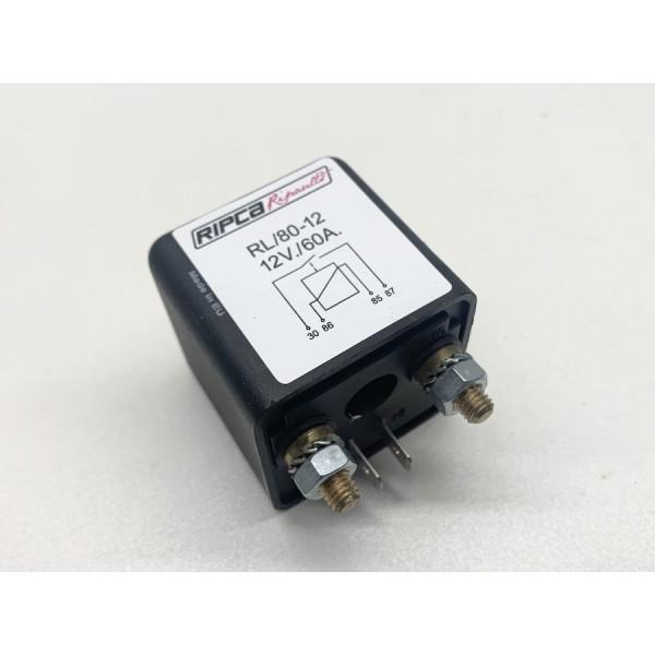 Relais 12 volt 60 ampere