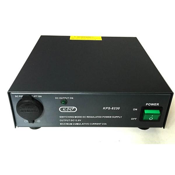 Omvormer-voeding 230 naar 13,8 volt 23A (300 watt)