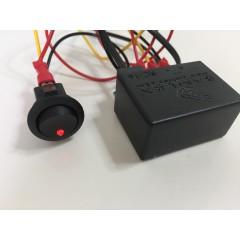 Afstandsbediening inbouw RC-16 voor Samlex PST omvormers