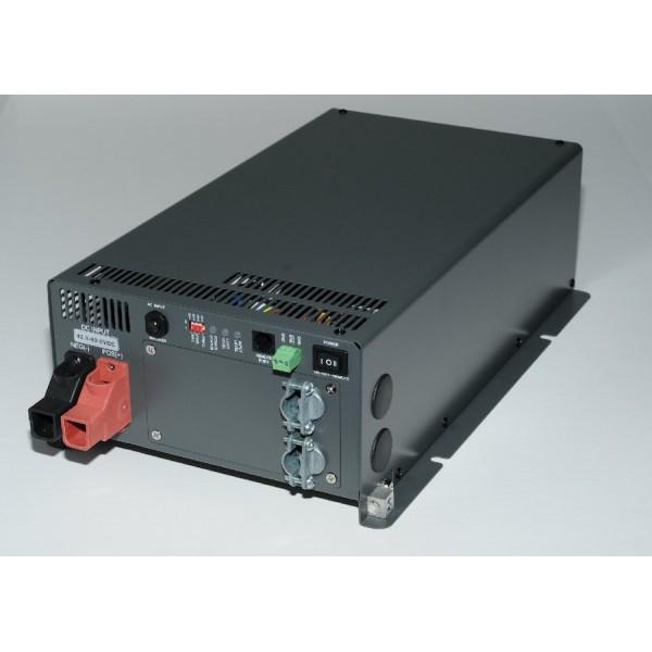 Cotek ST1500-212 12 naar 230 volt Zuivere Sinus Omvormer met relais, 1500 watt