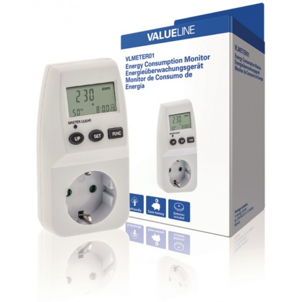 Energie vermogensmeter 230 volt