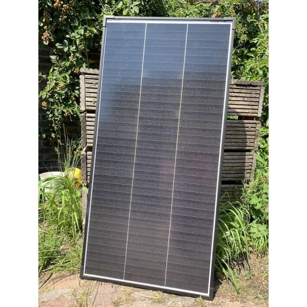 100 watt supercompact zonnepaneel 12 volt voor voertuig en boot