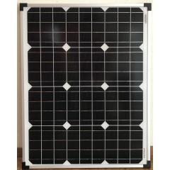 50 watt zonnepaneel 12 volt voor voertuig en boot
