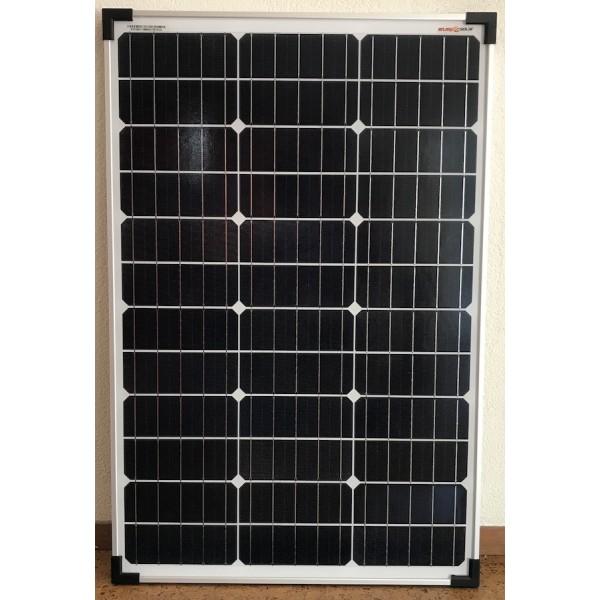 60 watt zonnepaneel 12 volt voor voertuig en boot